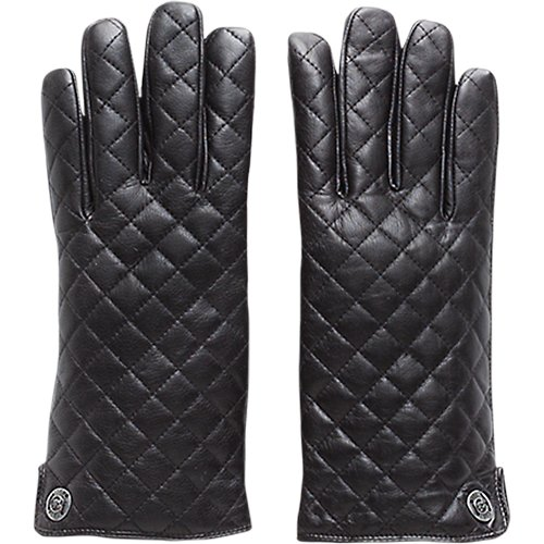 QUILTED NAPPA GLOVES