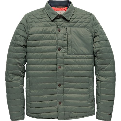 Light weight shirt jacket