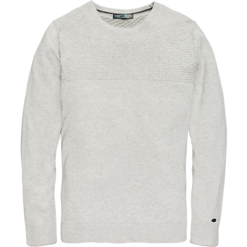 COTTON MELANGE CREWNECK