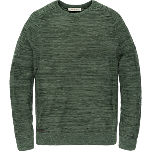 Sophisticated crewneck pullover