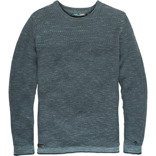 SPACE DYED CREWNECK