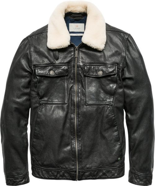 Men S Leather Jackets New Arrivals Official Cast Iron Store