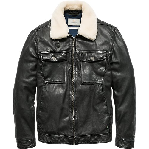 Trucker jacket - Sheep leather