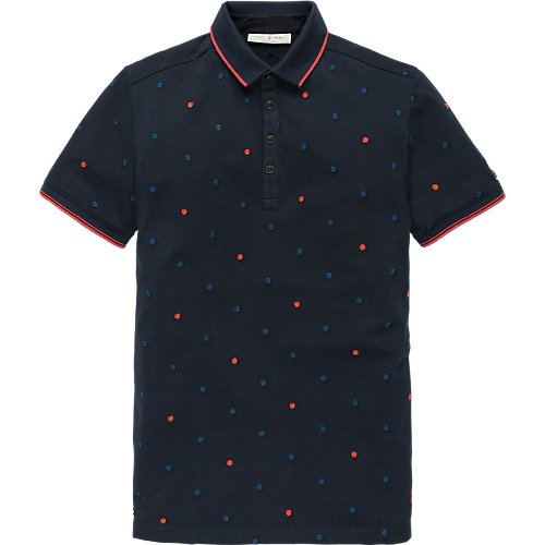 Light pique stretch polo