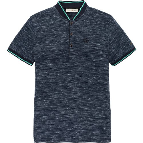Jersey Indigo look polo