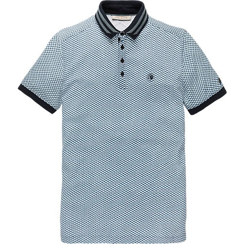 Structure Print Polo