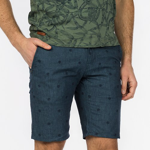 Cope Chino Short -Linen Cotton Fun