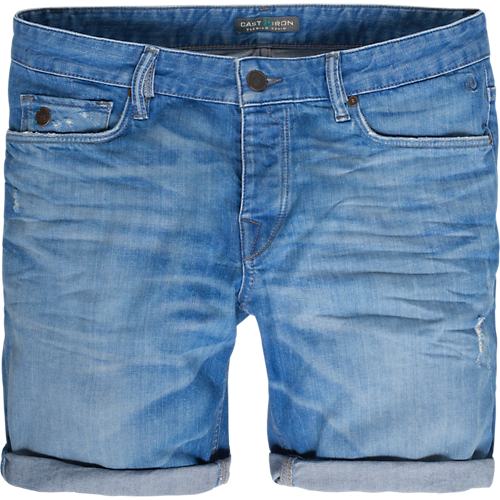 BRIGHT BLUE COPE SHORTS