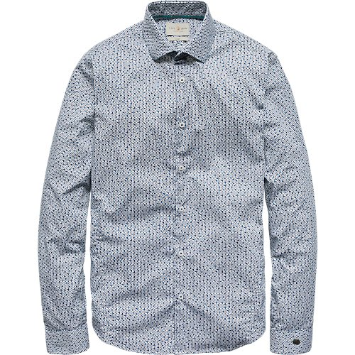 TRIANGLE RASTER PRINT SHIRT