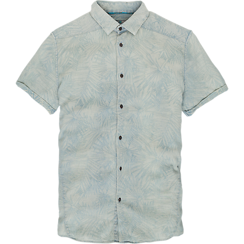 Palm Leaf Pattern Shirt