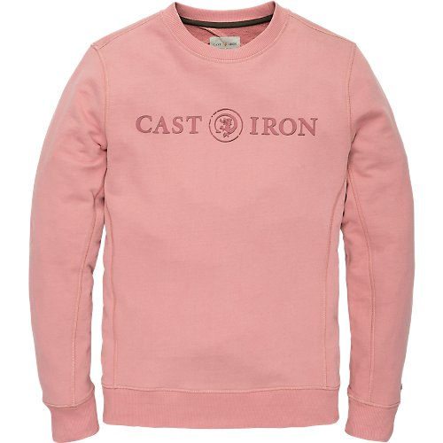 Big logo crewneck sweater