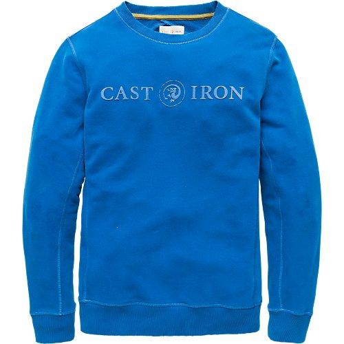 Big logo crewneck sweater