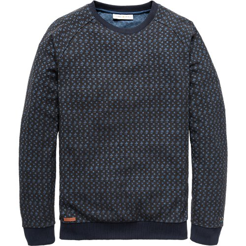 Structure Jacquard Light Sweat