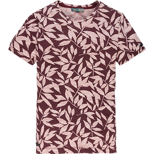 LEAF PRINTED T-SHIRT