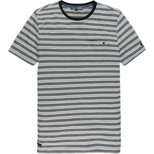 SINGLE JERSEY STRIPED T-SHIRT