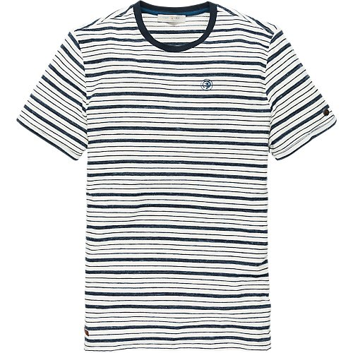Inject Melange Stripe Jersey short sleeve T-shirt