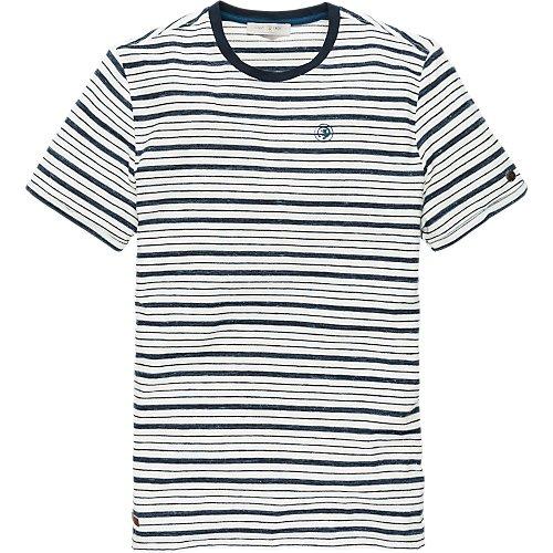 Inject Melange Stripe Jersey short sleeve T-shirt