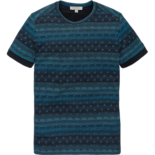 Pima Cotton short sleeve artwork T-shirt