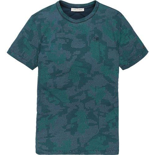 Fine Jersey Camo Print T-shirt