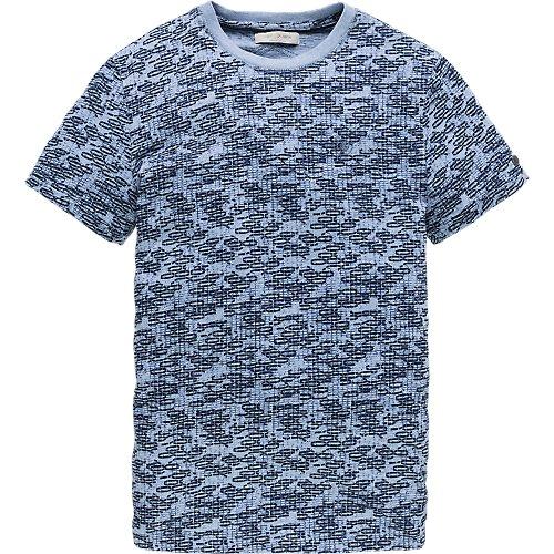 Broken raster print T-shirt