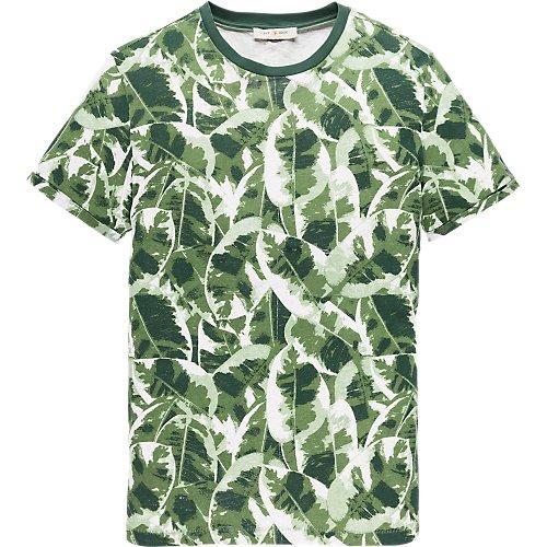 Leaf camouflage T-shirt