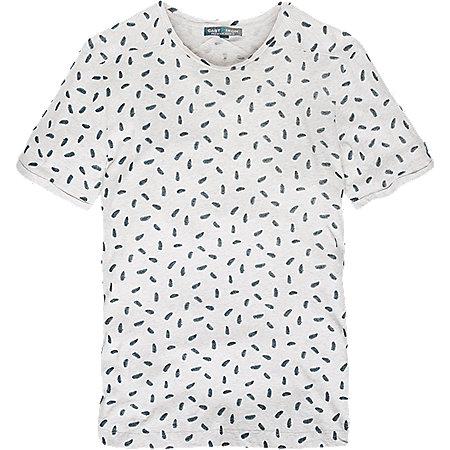Mini Leaf Printed T-Shirt