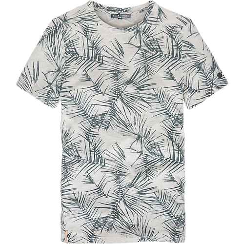 PALM PRINTED T-SHIRT