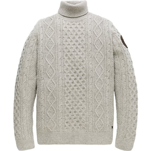 Aran Wool Turtleneck