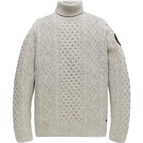 Aran Wool Turtleneck