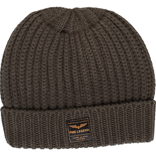 COTTON BLEND BEANY
