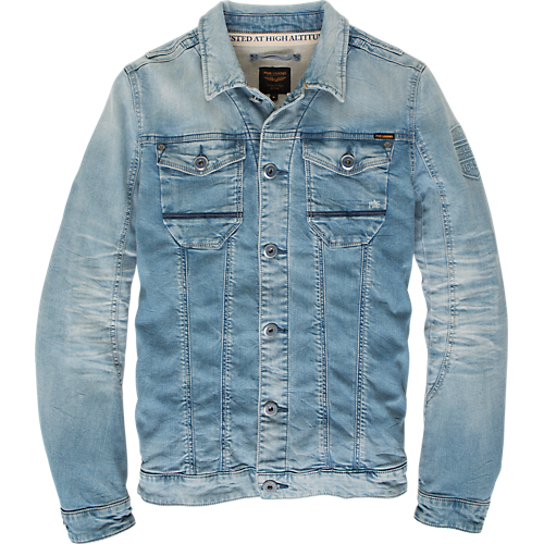 SWEAT DENIM JACKET