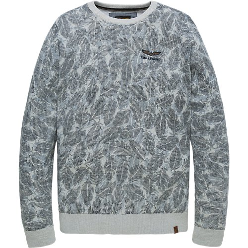 ALL OVER PRINTED SWEATER