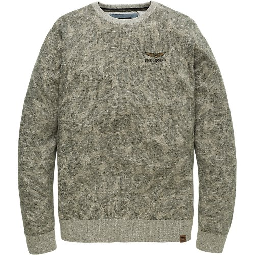 ALLOVER PRINTED SWEATER
