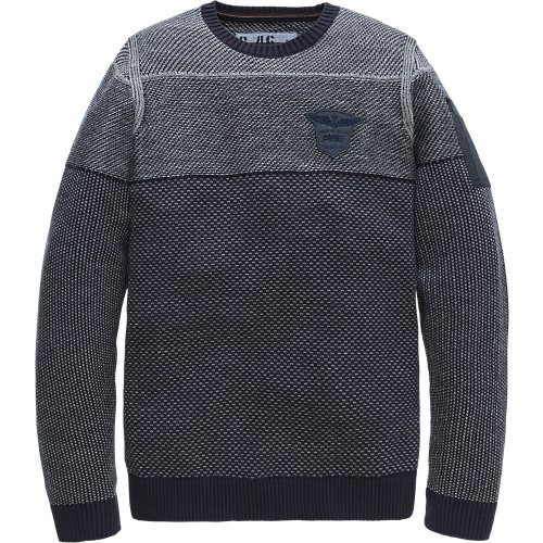 Cotton Jacquard Crewneck