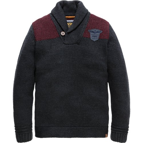 Shawl collar pullover