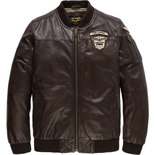 LEATHER WAVERIDER JACKET