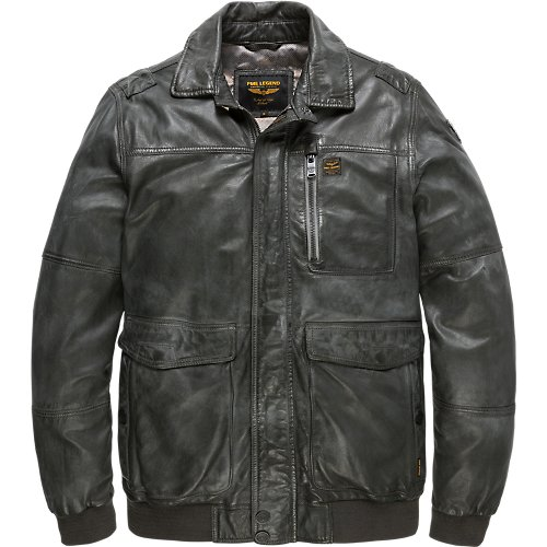 LEATHER PROCTOR JACKET