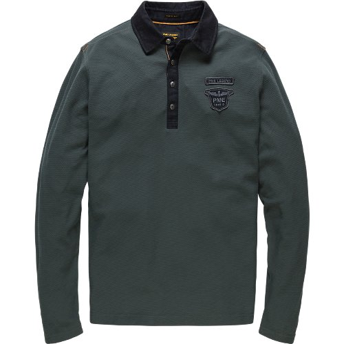 COTTON LONGSLEEVE POLO