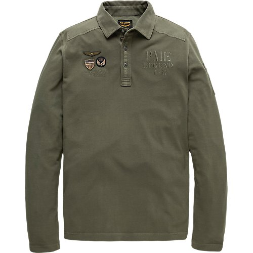 RUGGED LONGSLEEVE POLO