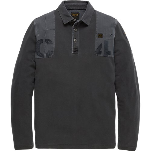 RUGGED PIQUE LONG SLEEVE POLO