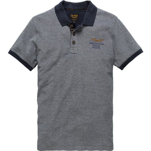 TWO TONE SHORT SLEEVE POLO