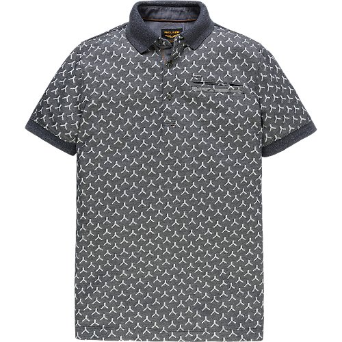 JACQUARD SHORTSLEEVE POLO