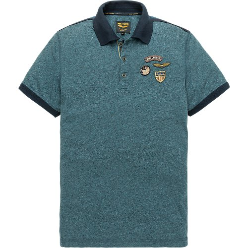 SPACE SHORTSLEEVE POLO