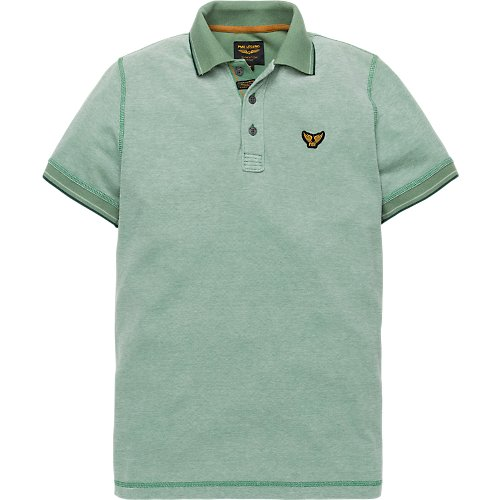 TWO TONE SHORTSLEEVE POLO