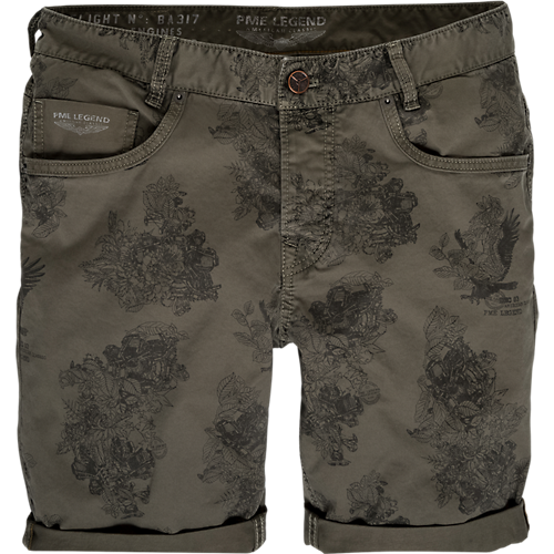 BEQUEME TWILL-SHORTS