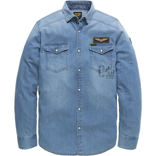 LONG SLEEVE SHIRT DENIM