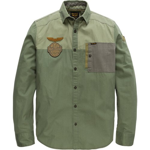 LONG SLEEVE SHIRT CARGO TWILL