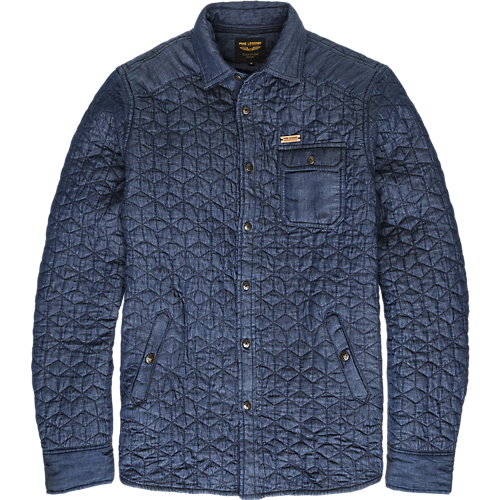 QUILTED LONG SLEEVE SHIRT