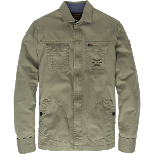 BUTTER CANVAS CARGO SHIRT