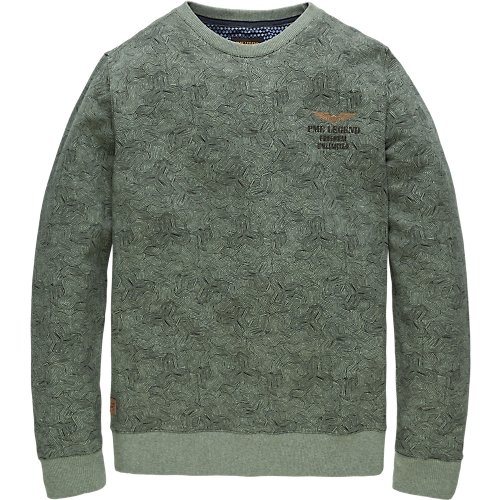TERRY ROUNDNECK SWEATER